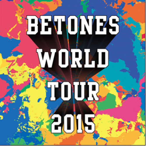 BETONES/WORLD TOUR JAPAN(レッド)