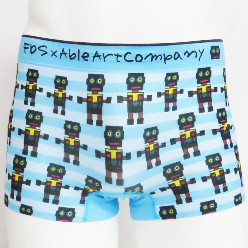 [50%OFF]FDS/FDS×ABLEART COMPANYコラボ ロボット柄成型ボクサーパンツ