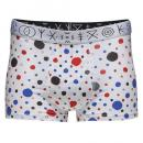FRANK DANDY/MSFD Dots Short Boxer (ホワイト)