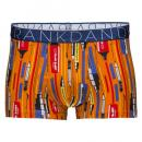 FRANK DANDY/Pen Stripe Short Boxer (オレンジ)